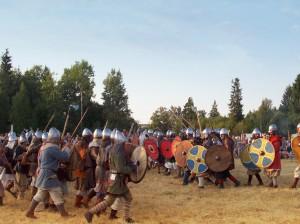 Реконструкторы викинги
